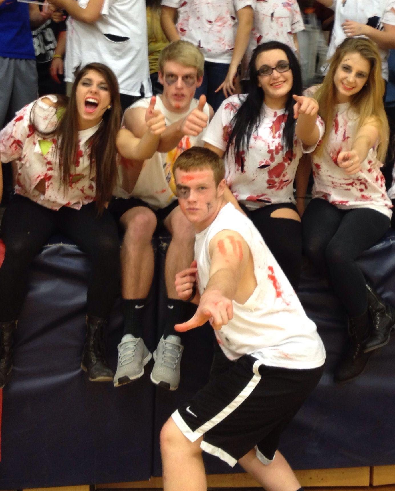 Zombie Theme. School Spirit. Game Theme. High School ...
