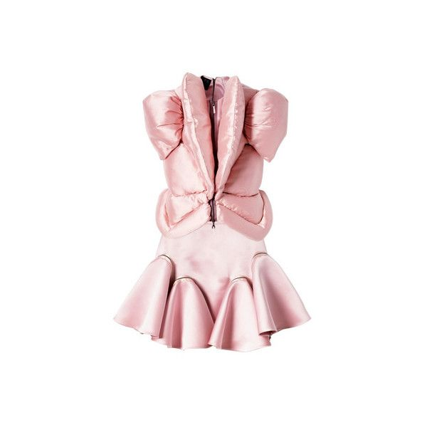 View Designer Collections of Futuristic Fashion – 2009 Fashion on ELLE ❤ liked on Polyvore featuring dresses, lady gaga, vestidos, pink, galaxy dress, futuristic dress, galactic dress, cosmic dress and giles dress