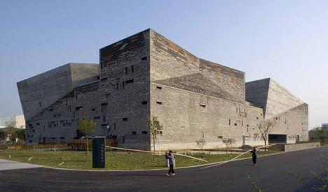 Ningbo Historic Museum - Ningbo, China - Pritzker Prize Winner Wang Shu