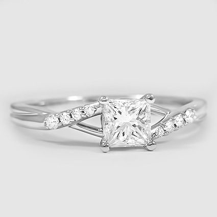 A princess cut that lights up the room. | Brilliant Earth ...