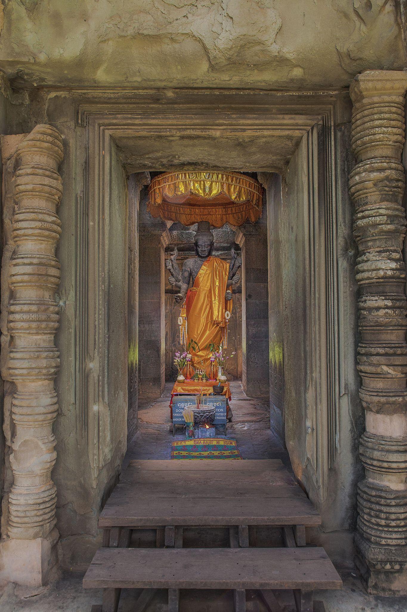 Angkor Wat Cambodge, Flic