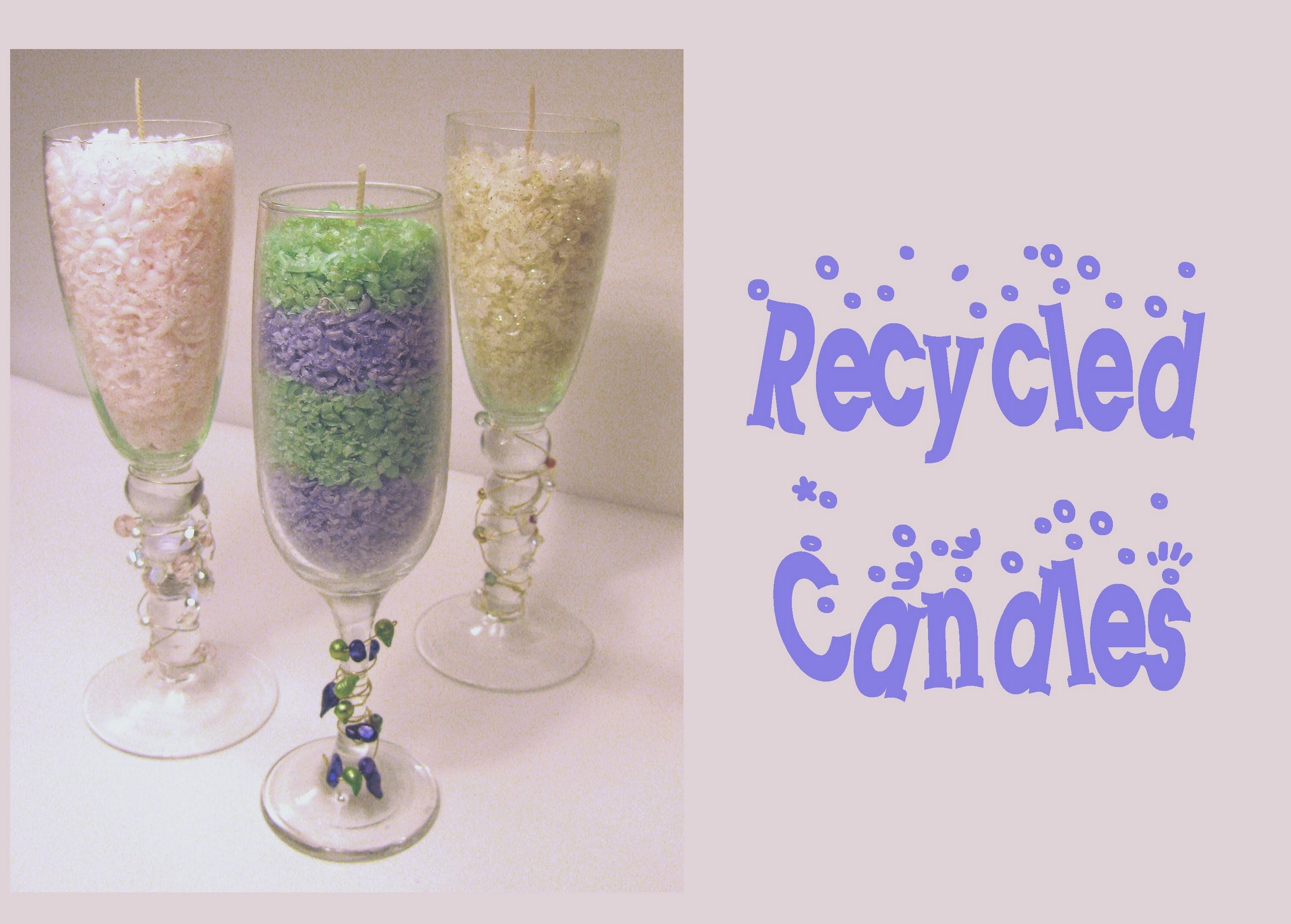 How to Recycle Candles pics