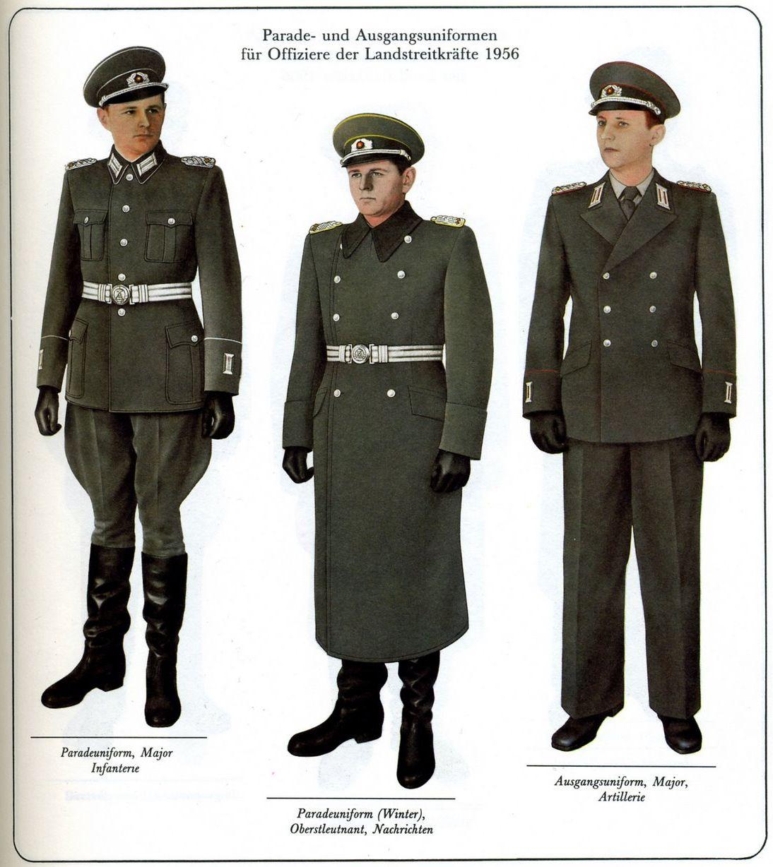 east german army uniforms militar pinterest army