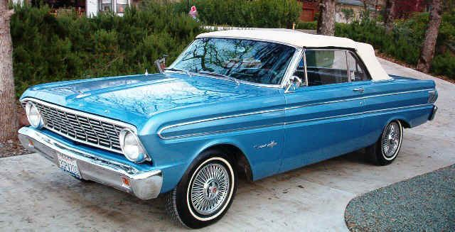1964 Ford Falcon Sprint Convertible 1964 Ford Falcon Ford
