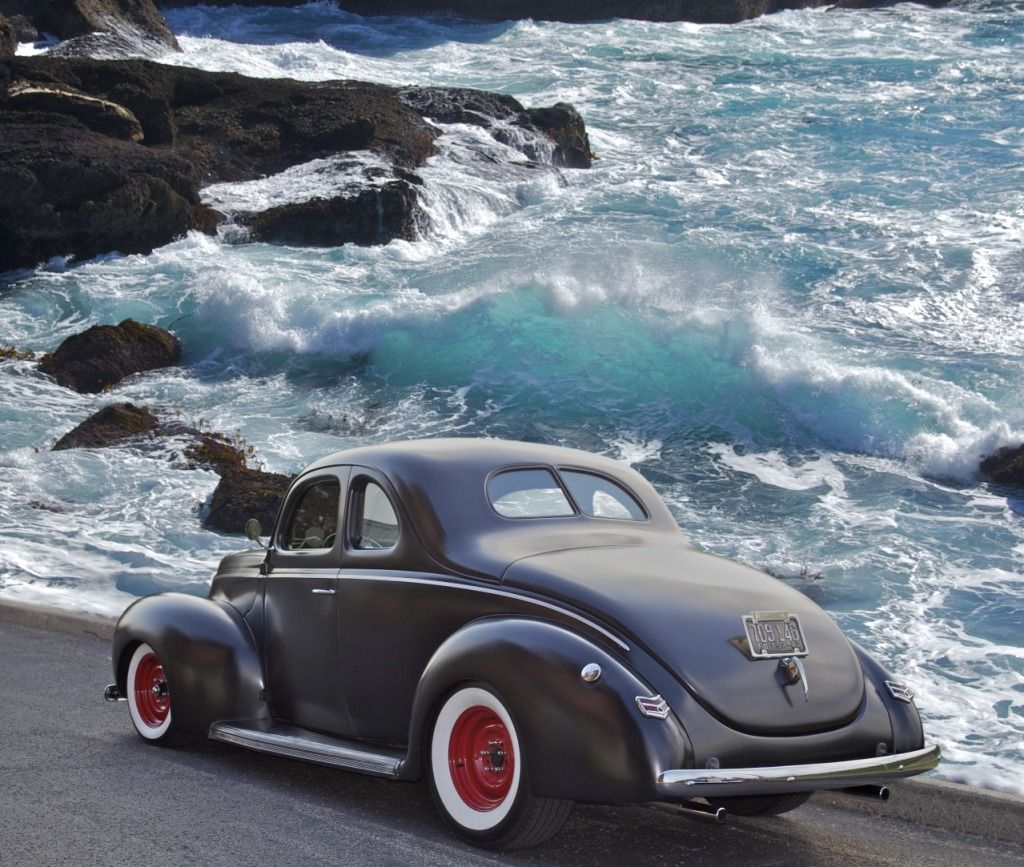 1940 Ford Coupe Real Old School Hot Rod 1940 Ford Ford Classic Cars 1940 Ford Coupe