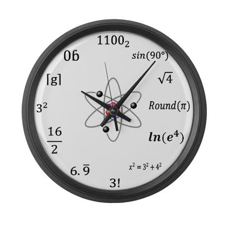 Large Sheldon Cooper Maths Wall Clock in 2019 | clock ideas