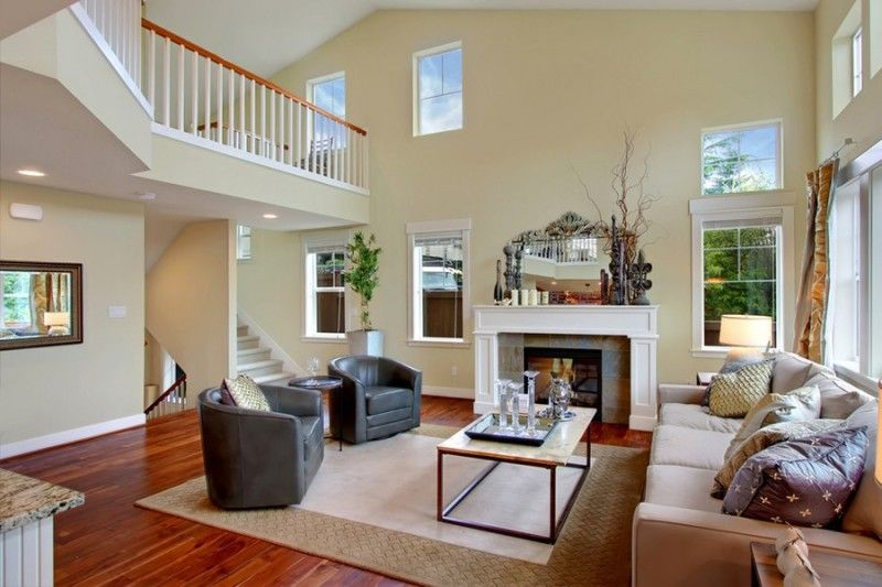 Paint Colors For High Ceiling Living Room family room colors | neutral paint colors for decorating family