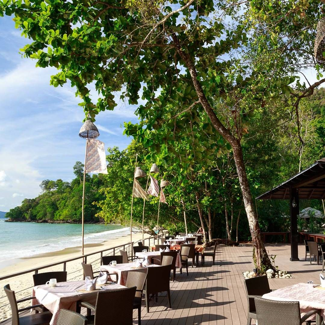 Lunch with a view. #Langkawi #lunch #view #sea #ocean #beach ...