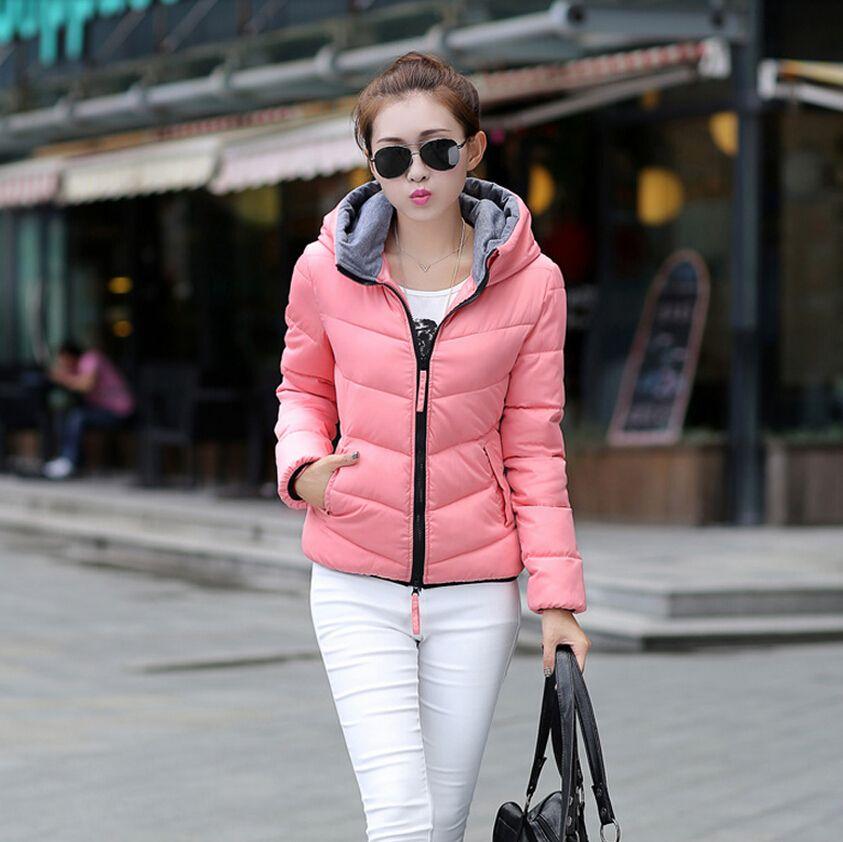 fda0bdb54597 Down Winter Women Jacket Short Design 2015 Winter Thickening Cotton ...