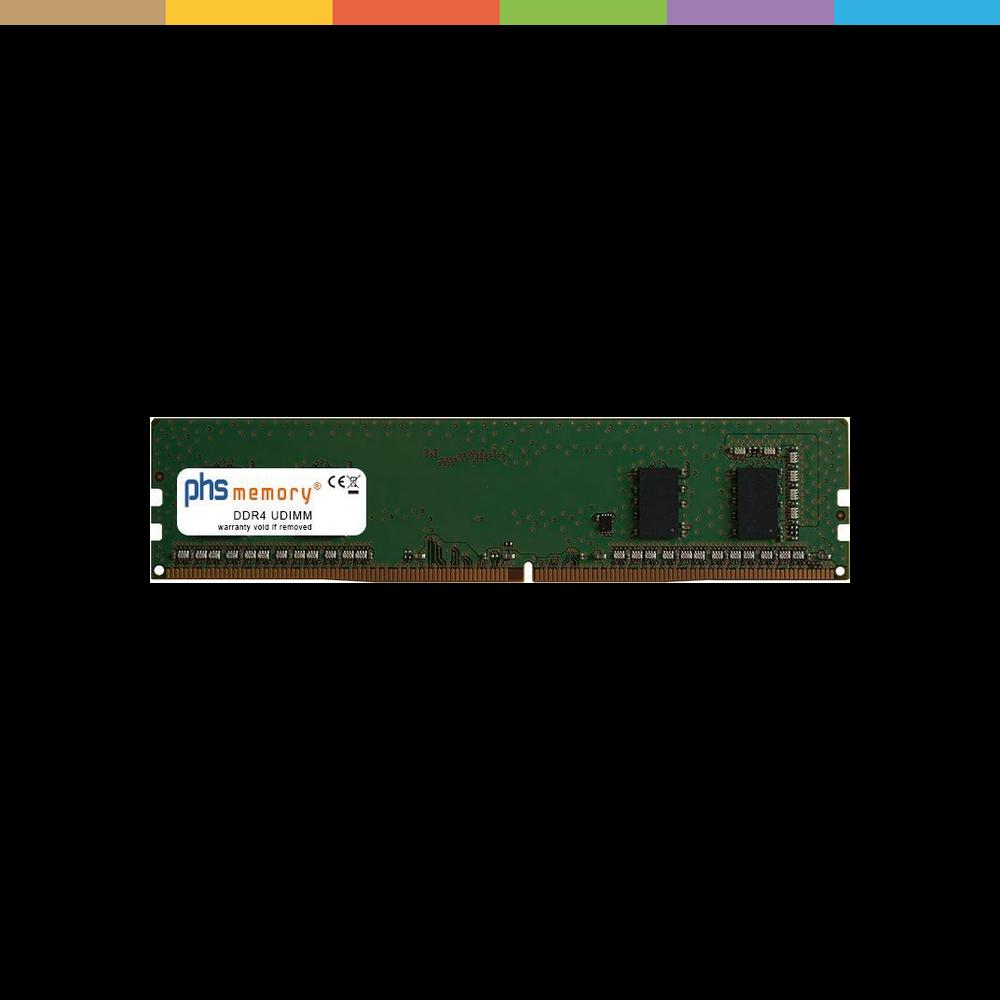 PHS-memory 4GB RAM Speicher für ASRock C246 DDR4 UDIMM 2666MHz, RAM