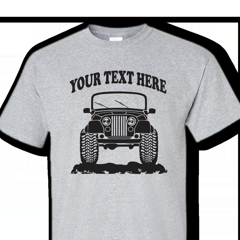 Jeep Cj 5 Cj 7 Renegade Laredo Offroad 4x4 Custom T Shirt
