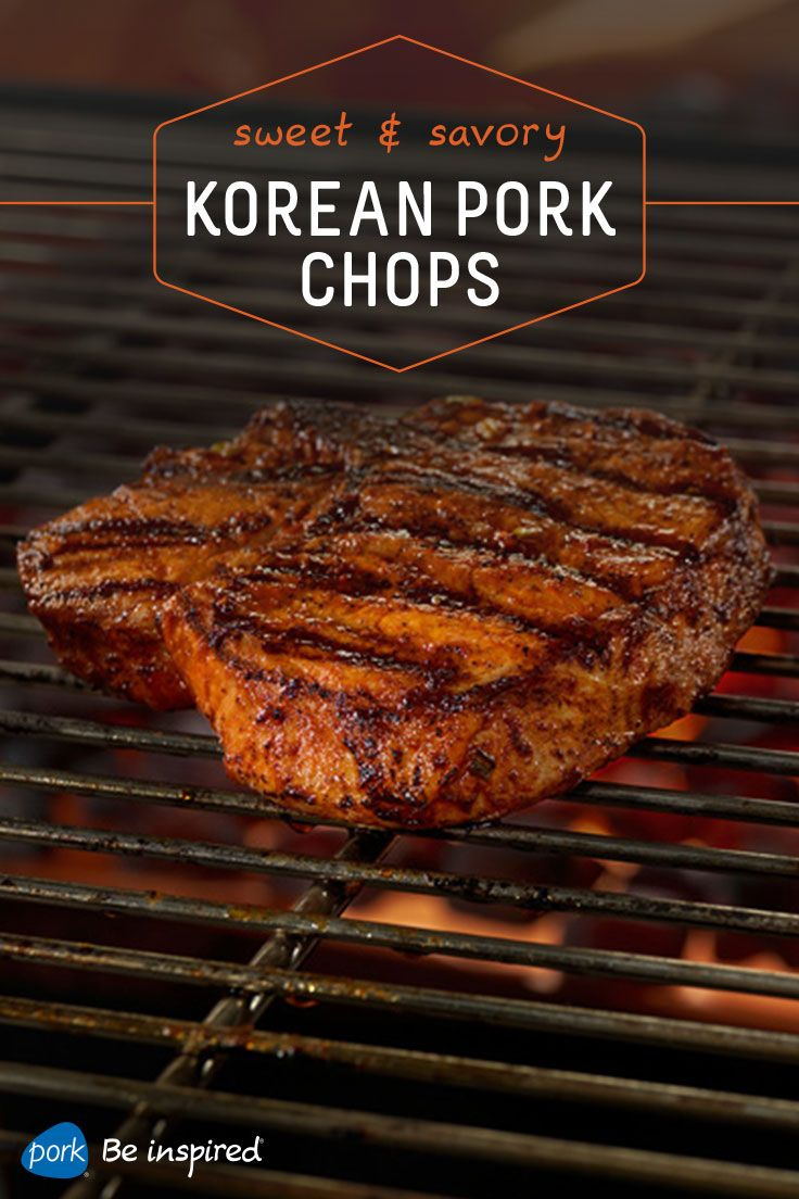 Korean Pork Chops With Gochujang Marinade