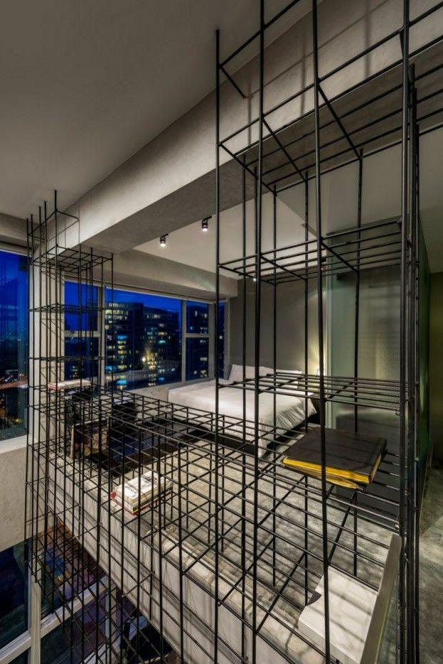 Loft à Singapour par PRODUCE - Journal du Design