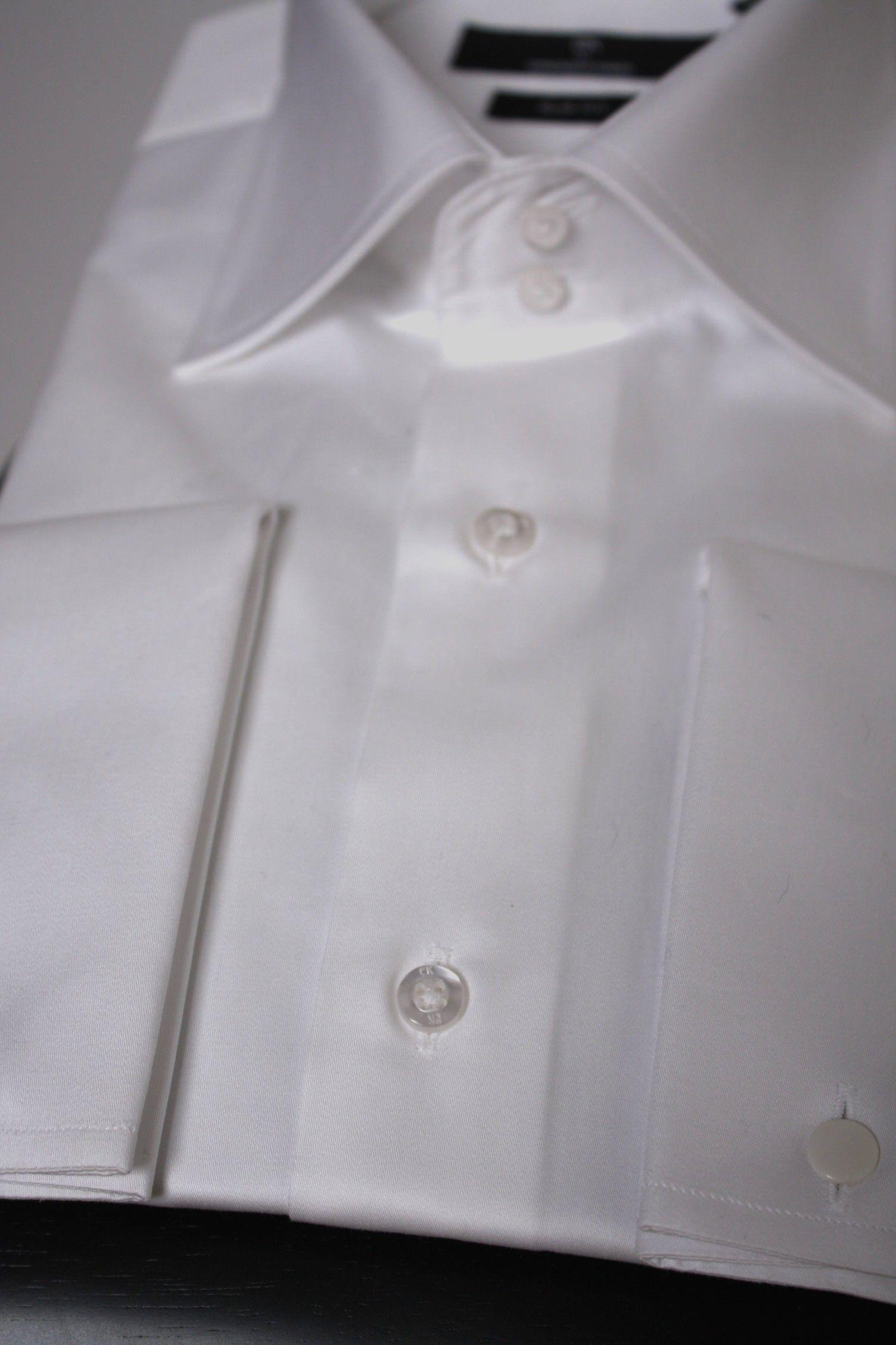 Chemise poignet mousquetaire cintrée coton - LNASTOCK   Les chemises ... 8620fd39a7f4