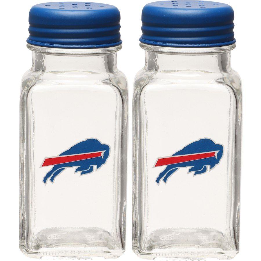 Buffalo bills glass salt pepper shakers buffalo bills