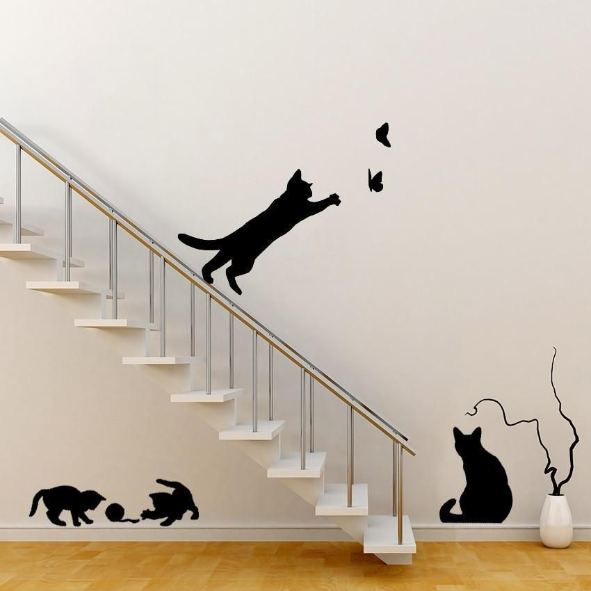 Photo of Kitty Cat Fur Baby Wall Stickers