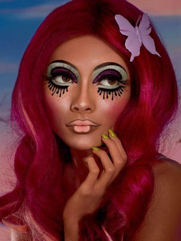 Illamasqua Toxic Nature Collection | Doll makeup