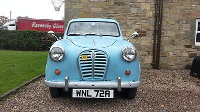 Austin A35 Blue   - http://classiccarsunder1000.com/archives/11489