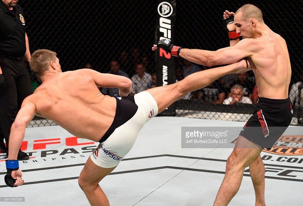 The Thomas Transition UFC FIGHT NIGHT MacDonald vs