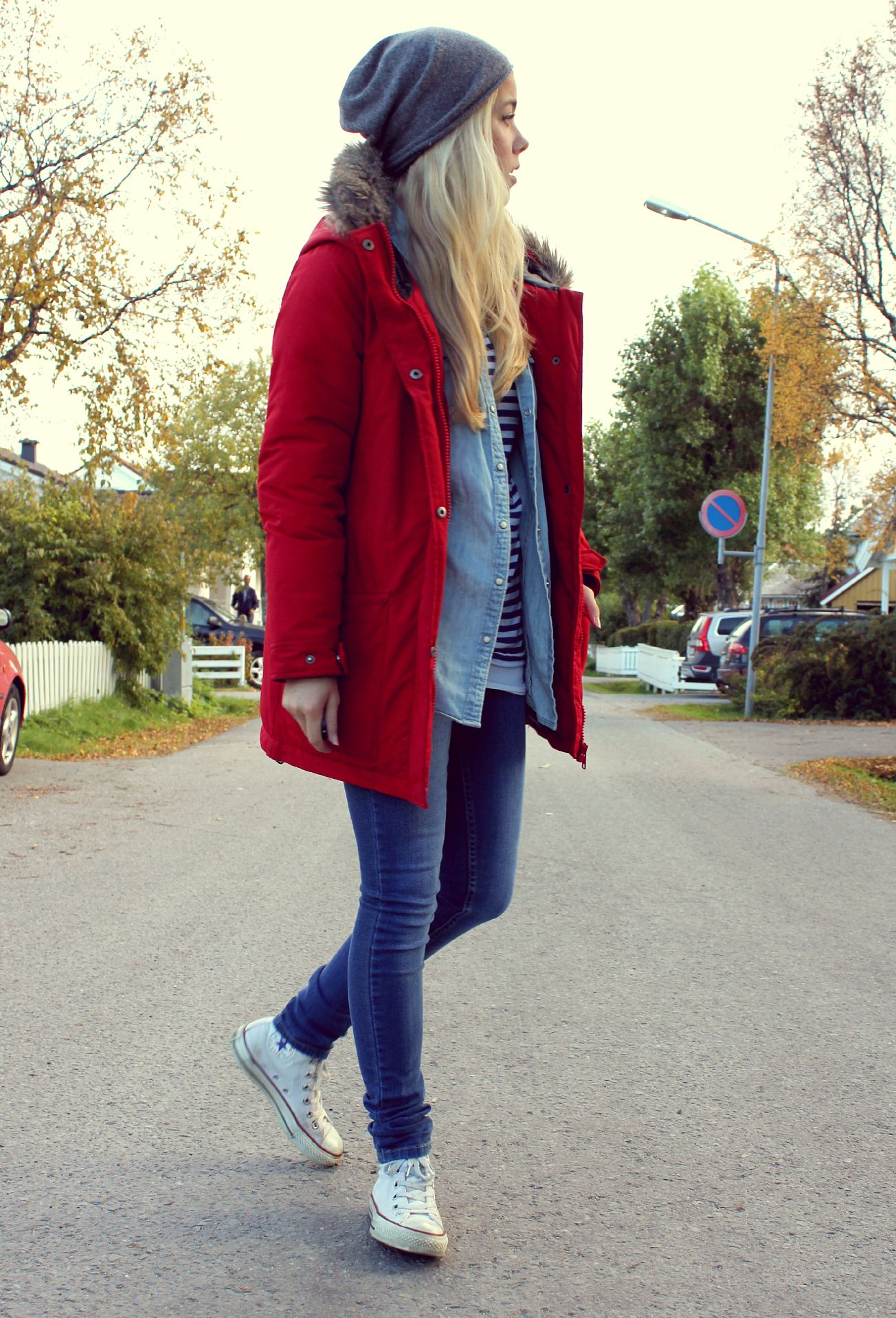 White Converse Outfits Winter