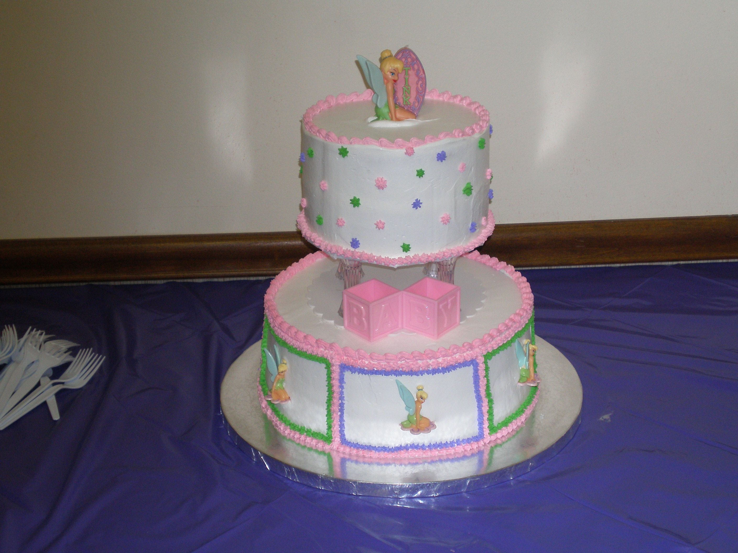 Tinkerbell Theme Baby Shower