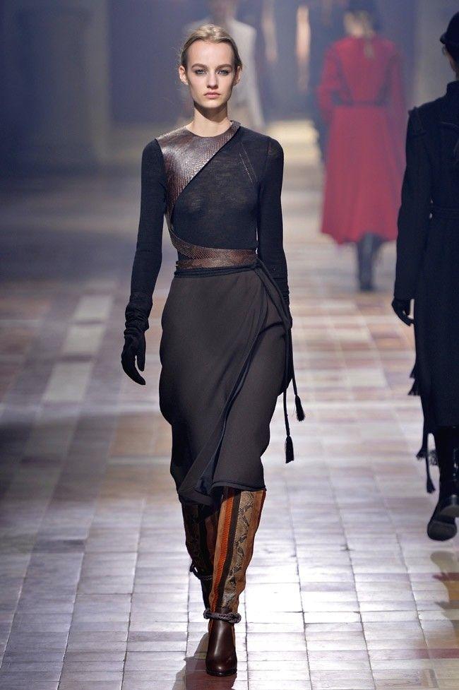 Lanvin Fall 2015: Urban Nomad Fashion
