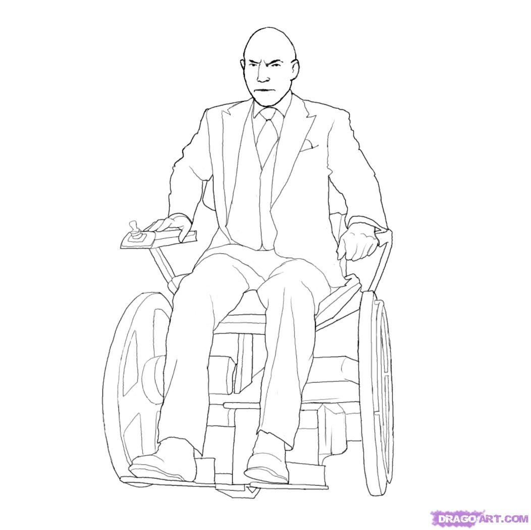 Professor x drawing pictures photos and images