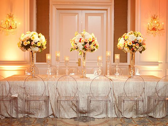 crystal clear acrylic wedding details to make your day