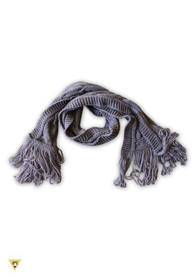 rivenditore all'ingrosso vari design allacciarsi dentro sciarpa in lana mohair con frange anni 60, tortora | Sciarpe ...