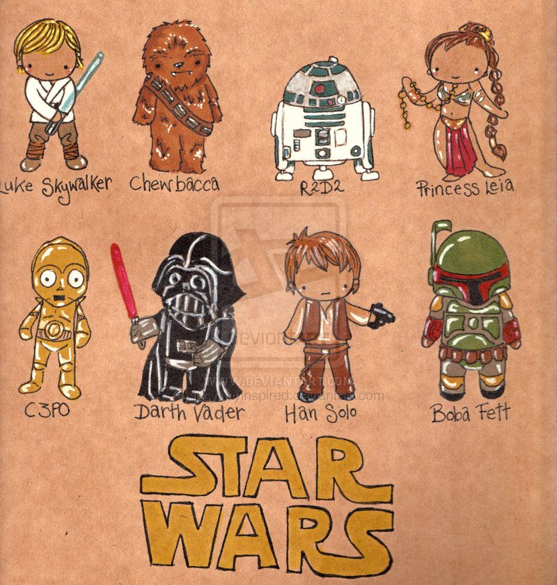Star Wars Chibis by *Pinkie-Perfect on deviantART
