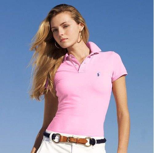Ralph Lauren Womens Small Pony Short Polo T Shirts Outlet Portsm