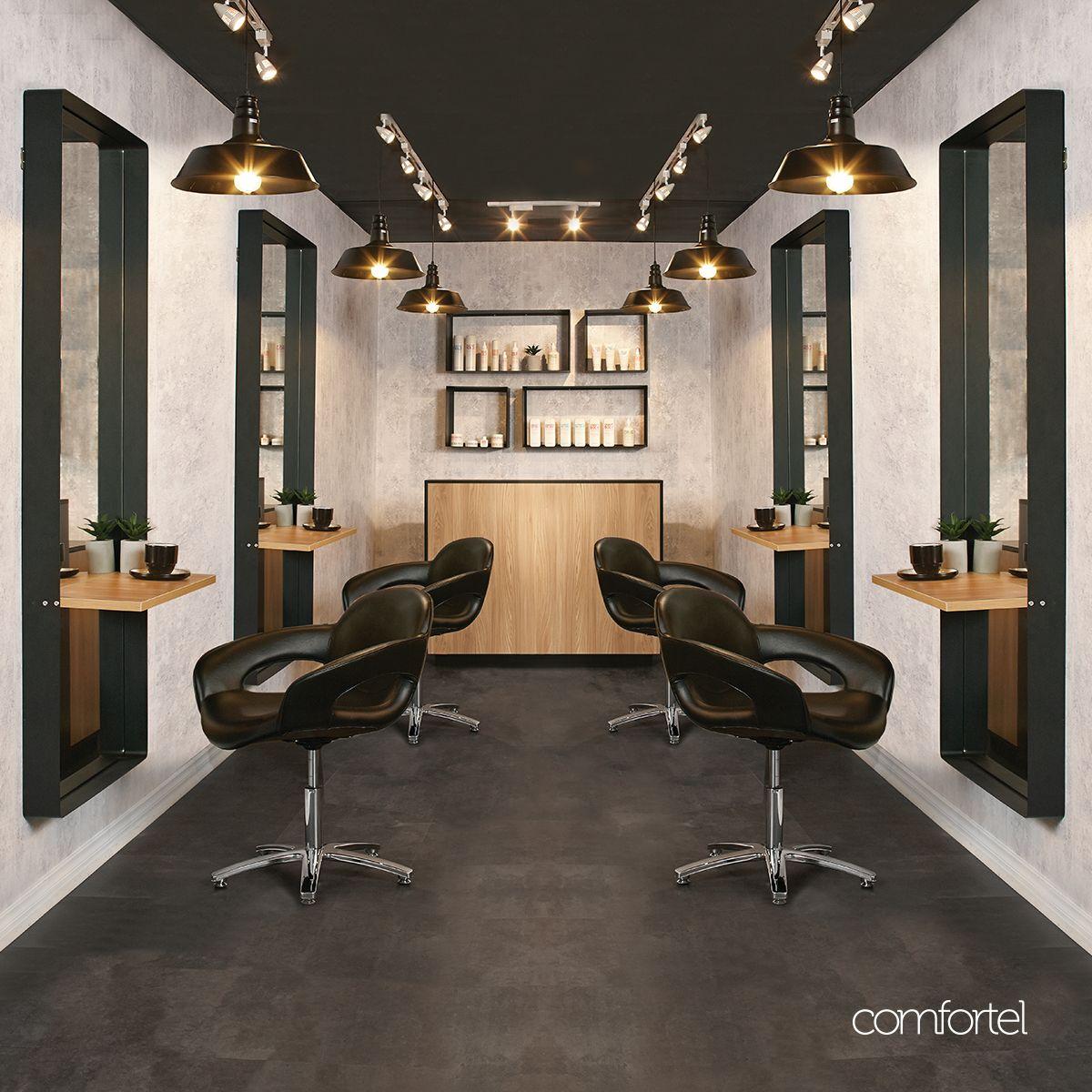 Alister Reception Desk in 2020 Salon interior design