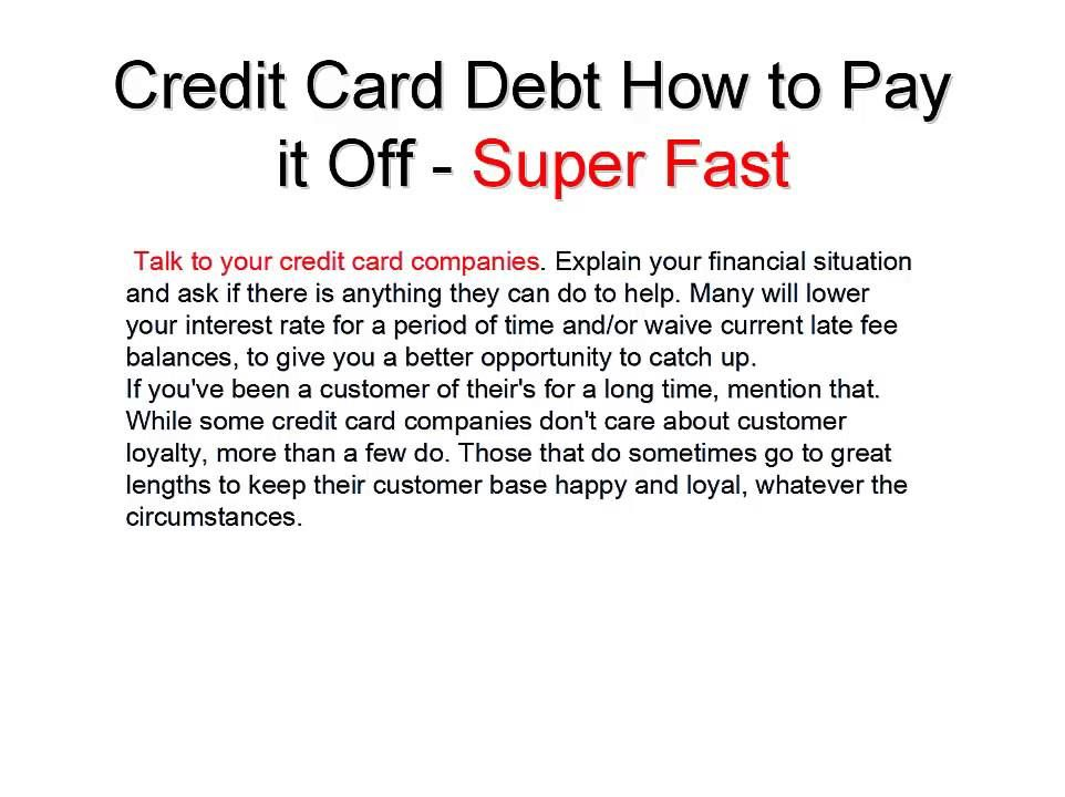Credit Card Debt how to pay off SUPER FAST By John Oswald All - credit card payoff calculator