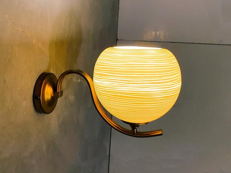 Wall Light Porcelain Lamp Shade Wall Sconce Living Room Wall