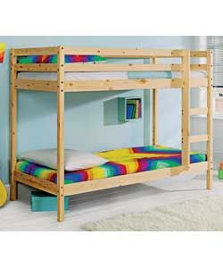 Shorty Bunk Bed Frame Natural Pine For Wilf And Others Pinterest