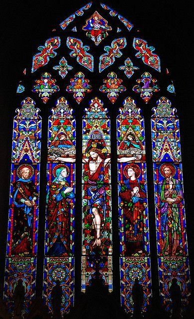 Glass Act at St Peter and St Paul, Lavenham, UK