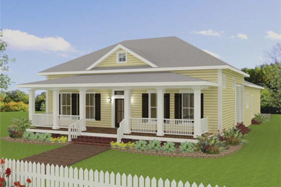 Traditional Style House Plan 3 Beds 2 Baths 2208 Sq Ft Plan 44 193 Country Style House Plans Country House Plans Traditional House Plans