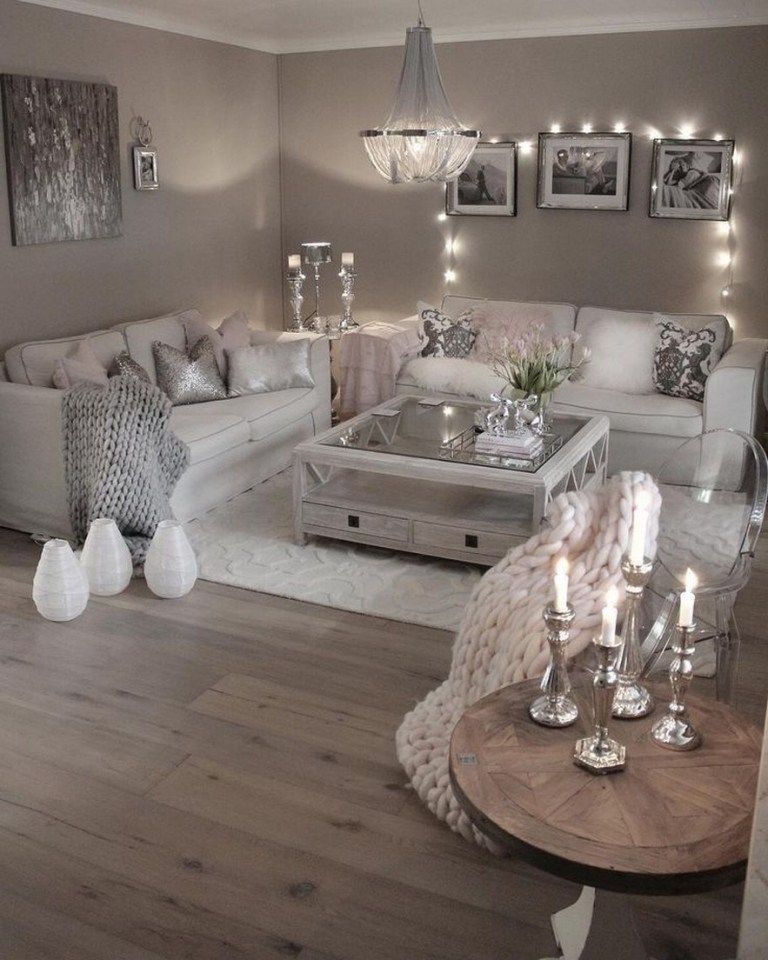 Modern Glam Living Room Decorating Ideas 19: 81 Cozy Living Room Decor Ideas To Copy 58 In 2020