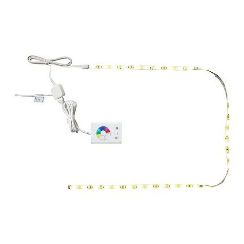 Dioder led light strip flexible ikea uses leds which consumes up dioder led light strip flexible ikea uses leds which consumes up to 80 less energy and last 20 times longer than incandescent bulbs use around the of aloadofball Gallery