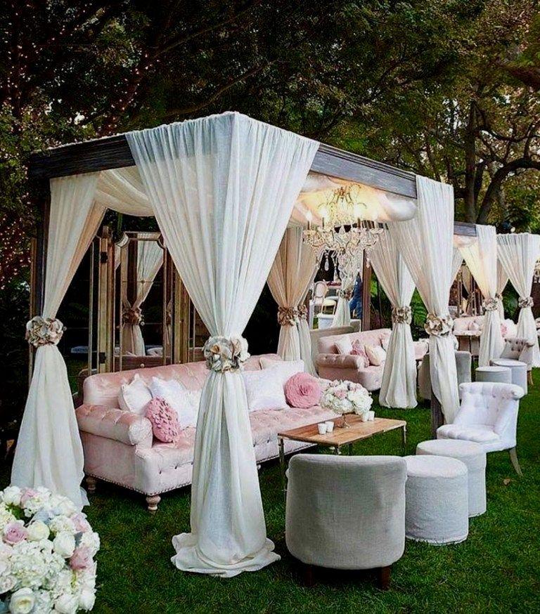 Simple Outdoor Wedding Ideas: Quick Wedding Party Adornment Concepts For Reception