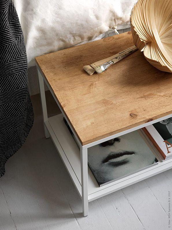 Landelijke slaapkamer: Personaliseer je nachtkastje of voetenbankje ...