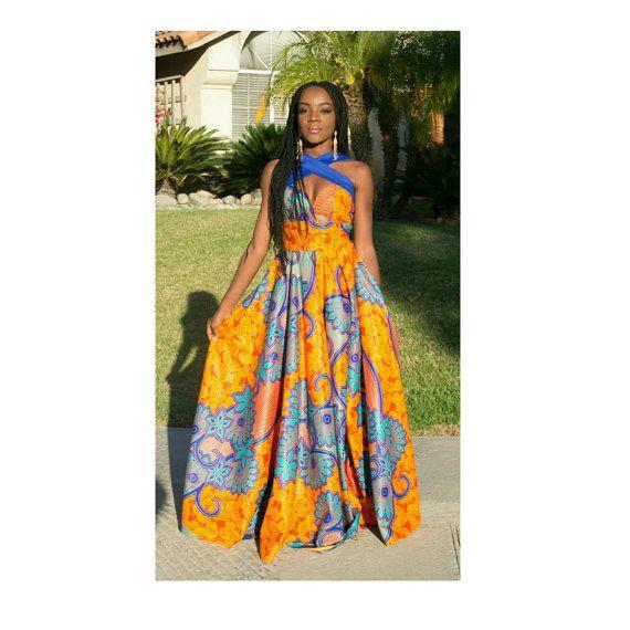 robe de bal africain v tements africain robe africaine par truefond idee robes pinterest. Black Bedroom Furniture Sets. Home Design Ideas