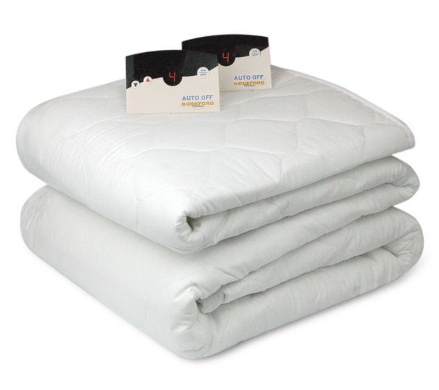 Quilted Heated Mattress Pad By Biddeford Heated Mattress Pad Mattress Queen Mattress Size
