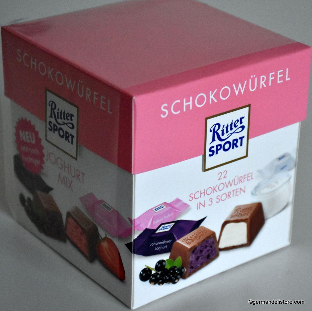 Ritter Sport Choco Cubes Yogurt Schokowürfel Joghurt
