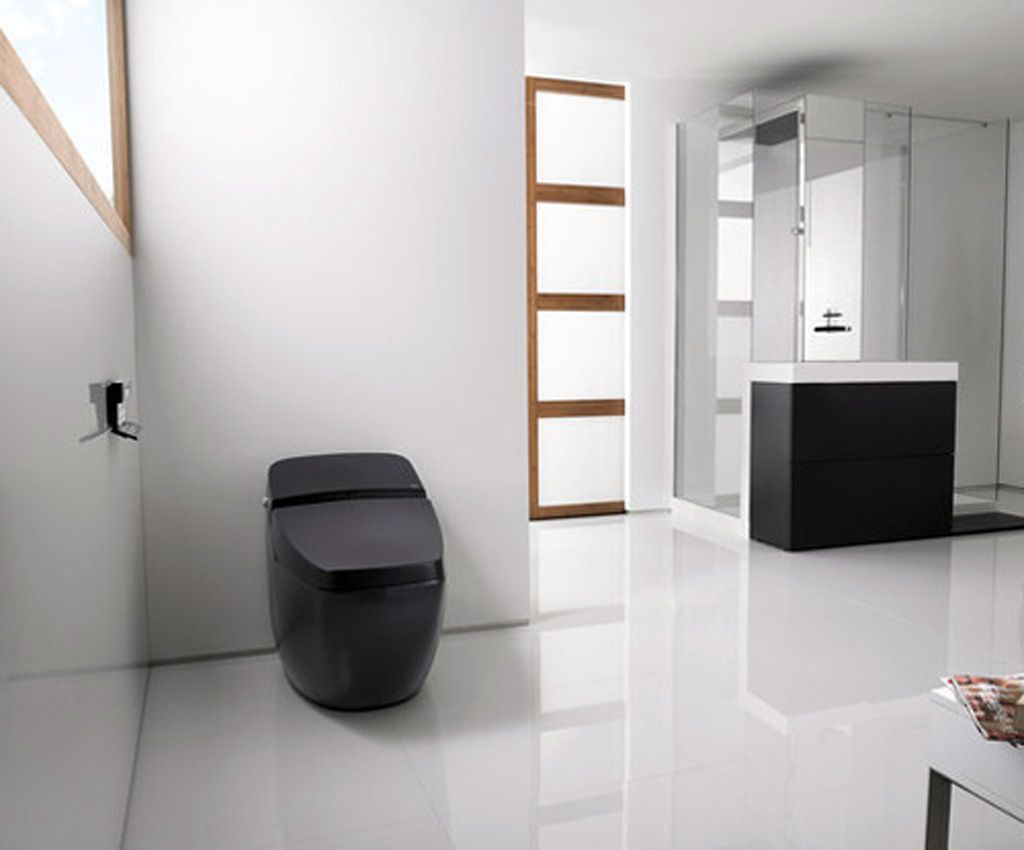 Modern design toilets for your bathroom high tech modern for Toilet bathroom design