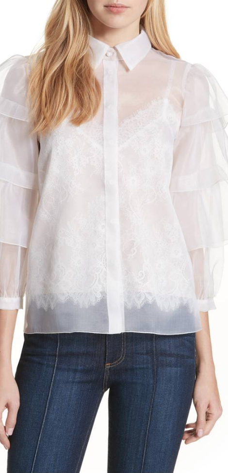 e5bee4c264e5d sheer tiered blouse