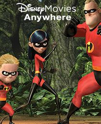 FREE The Incredibles movie! Get Disney Movies Anywhere===>