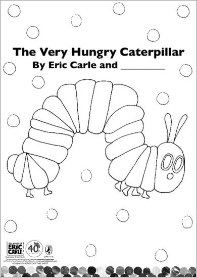 Colour in The Very Hungry Caterpillar!   Pre-K   Pinterest   Viajes