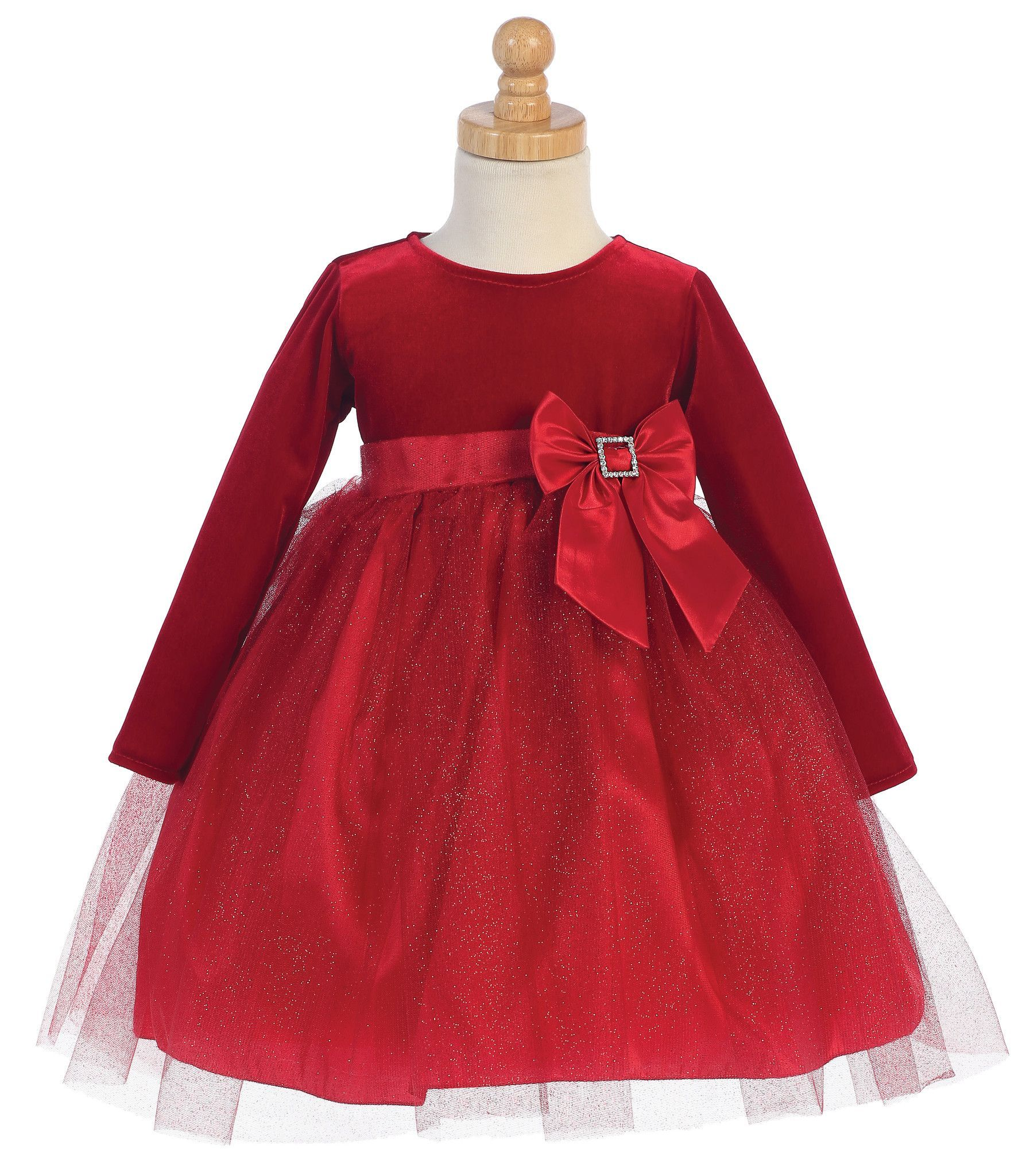 Baby Girl Velvet and Glitter Dress Products Pinterest