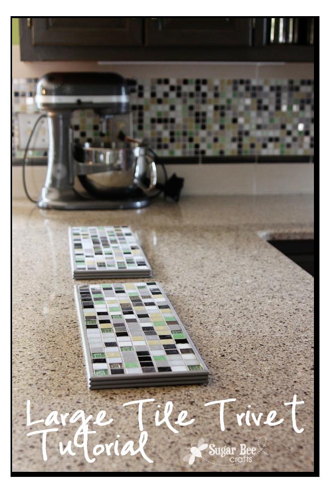diy tile trivet family ideas galore diy kitchen diy rh pinterest com